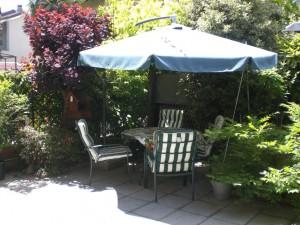 Villetta a schiera con giardino